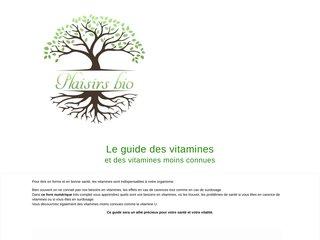 Le guide des vitamines
