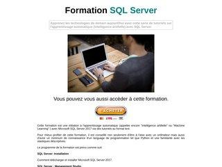 Formation SQL Server