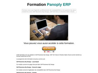 Formation Panoply ERP