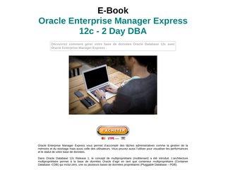 Oracle Enterprise Manager Express 12c