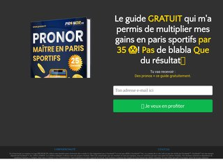 Pack VIP PRONOR 3mois
