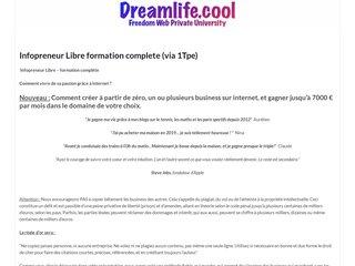 Infopreneur Libre (Via 1Tpe)