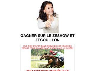 GAGNER SUR LE ZESHOW ET ZECOUILLON