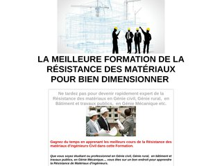 RDM: Dimensionnement en Mécanique