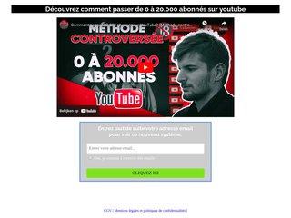 Youtube cash: replay coaching 0-20.000 abonnés