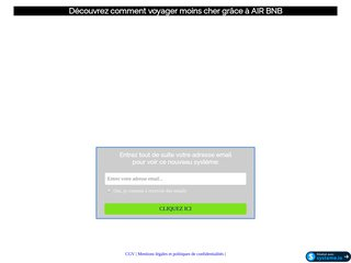 Air BNB = c'est gratuit !