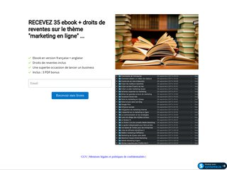 PACK 35 ebooks revendables