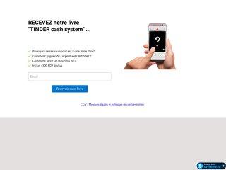 Tinder cash system