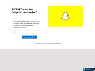 snapchat cash system