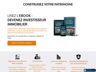 Devenez investisseur Immobilier ebook