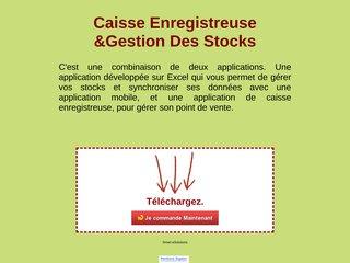 Caisse Enregistreuse + Gestion Des Stocks
