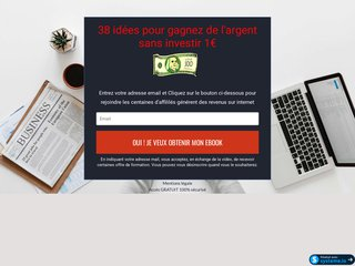 38 idées pour gagnez de l'argent sans investir 1?