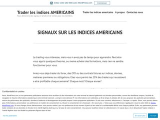 TRADER LES INDICES AMERICAINS Pack OR