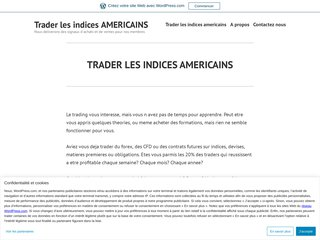 TRADING DES INDICES AMERICAINS Pack ARGENT