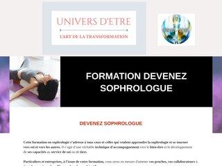 Formation sophrologie