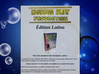 Drum kit latino