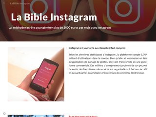 La Bible Instagram