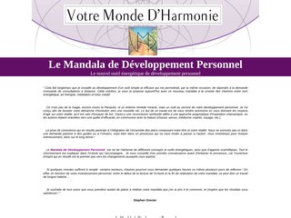 La Mandala de Développement Personnel