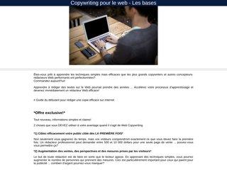 Copywriting pour le web - Les bases