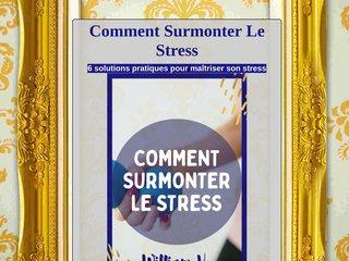 Comment Surmonter Le Stress