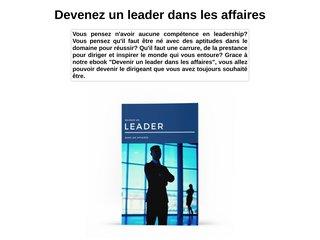 Devenir un leader dans les affaires