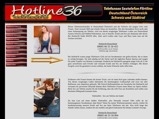 Telefonsex Hotline36 Deutschland Austria Schweiz Tirol