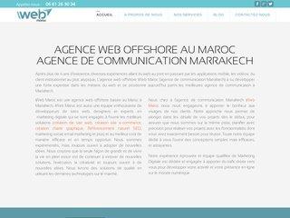 Détails : Agence web offshore maroc