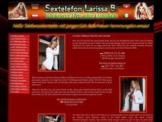 mehr Information : Larissa - Telefonsex Verbalerotik Fetischsex DE AT CH