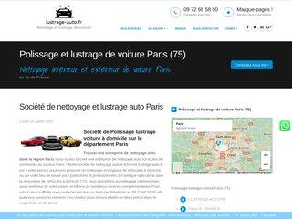 Rénovation auto à domicile à Paris