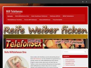 Détails : Milf Telefonsex - geile reife Frauen
