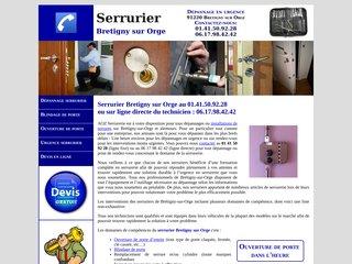 Dépannage serrurier Bretigny sur Orge