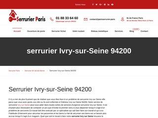 Serrurier Ivry sur Seine