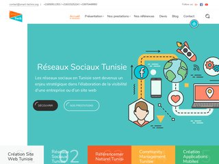 Détails : agence  referencement tunisie