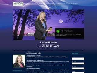 Multi-Prêts Agent:Louise Hurteau-Financement pret immobilier Courtier gratuit emprunt immobilier