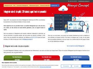Détails : Hébergement web en Suisse