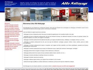 Allo, entreprise de nettoyage en Suisse romande