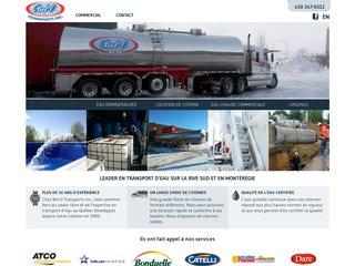 transport deau par camion citerne remplissage de piscines