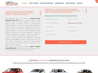 Détails : Location voiture Marrakech pas cher
