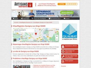 Chauffagiste Savigny-sur-Orge 91600