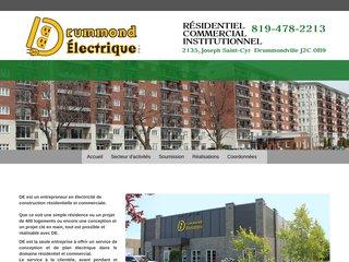 Drummond Électrique - Entrepreneur électricien