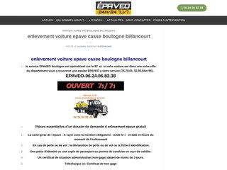 Détails : Enlevementépavegratuit Boulogne