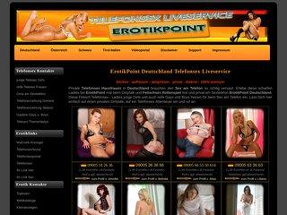Détails : Erotikpoint Fetisch Telefonsex Liveservice Dirtytalk
