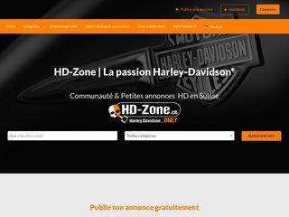 Détails : Petites annonces - motos Harley Davidson