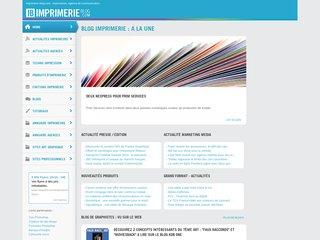 Imprimerie Blog