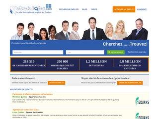 Détails : Emplois à Québec