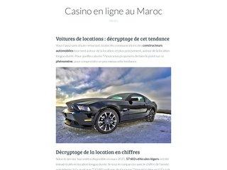 Détails : Location de voiture Marrakech | Location voiture pas cher - Rent Car Marrakech