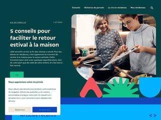 Pensionnat, résidence scolaire pour écoles privées au Québec