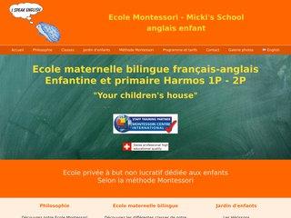 Pédagogie Montessori en Suisse