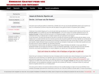 Annuaire gratuit du web