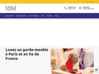 Détails : Garde meuble Paris